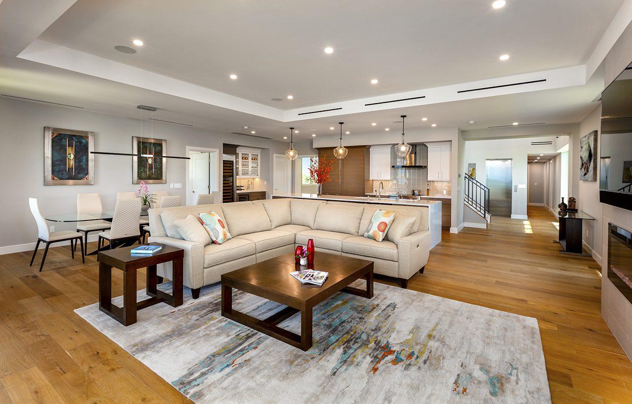 2 - Bayfront Renovation - Longboat Key - Living Room
