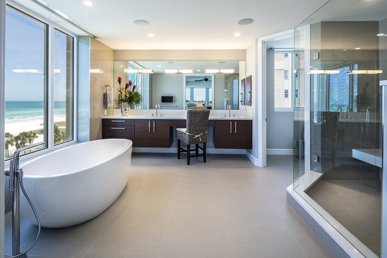 6 - Bayfront Renovation - Longboat Key - Bathroom